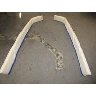 1995 Bayliner Capri 1950 18ft Interior Front Bow Wall Cushion Panels Beige Blue