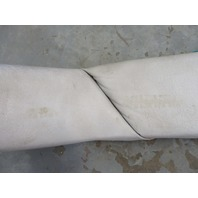 Set of TWO 1986 Bayliner Capri 18ft Interior Front Bow Wall Cushion Panels Off-White Blue