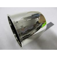 """RV Boat Trailer Wheel Hub Center Plastic Cap 3.30"""" Chrome"""