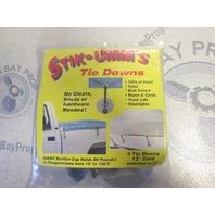 STD-12 Kwik Tek Stik UMMs Tie Downs 5 Tie Downs 12 inch cord