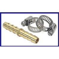 033212-10 Moeller BRS Hose Mender with Stainless Clamps 5/16 inch