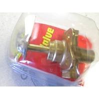 33302-10 Moeller Brass Three Way FNPT Valve 1/4 inch