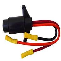 495 RigRite Female Trolling Motor Plug 3 Wire for 12V 24V  and 490 receptacle