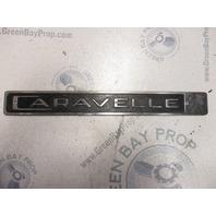 Vintage 1970's Caravelle Boat Emblem Badge Decal