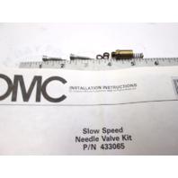 0433065 OMC Evinrude Johnson Slow Speed Needle Valve Kit 334816