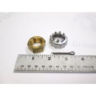 802126 398042 Quicksilver Propeller Nut Kit for OMC Cobra/Volvo 2.6-7.4L