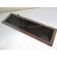 "Teak Cuddy Cabin Window Door 41"" x 12 1/2"" Plexiglass"