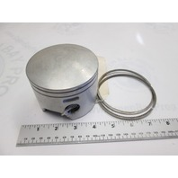 0436312 OMC Evinrude Johnson .030 O.S. Port Left Piston & Rings 90-175 HP 0439519