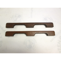 "Boat Grab Hand Rails Teak Wood 14 1/2"" Long"