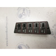 Dash Panel Switches for 1989 Bayliner Capri Boat