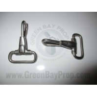 2 X Bimini Shade Top Stainless Strap Clip HEAVY DUTY Bayliner Lund Tracker