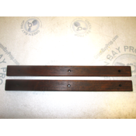 "Four Winns 190 Horizon Boat Grab Hand Rails Teak Wood 20"" x  1 3/4"""