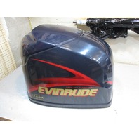 5004956 Engine Cover Cowl Evinrude Outboard Ficht Dark Blue Motor Cover