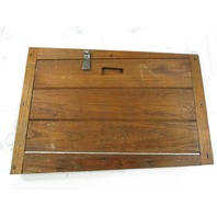 "Marine Boat Teak Wood Hatch Panel 24 1/4"" x 17 1/4"" x 7/8"""