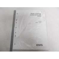 1998-2005 Volvo Penta Stern Drive Parts Catalog SX-M Transom Shield Kits