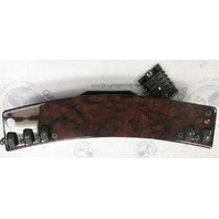 Custom Boat  Accessory Dash Switch Panel With Fuse Block Wood Grain
