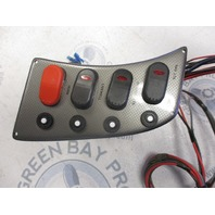 New NOS Marine Boat Dash Switch Panel