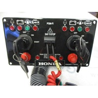Honda Marine Outboard Dual Ignition Key Switch Panel Station