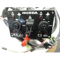 Honda Marine Outboard Dual Igniton Key Switch Panel and Harness