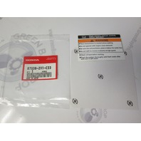 87538-ZV1-C23 Honda Outboard Warning label