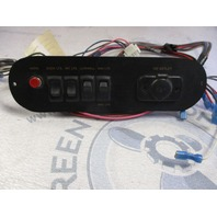 "Marine Boat Dashboard Switch Panel Black 9 1/2"" x 2 5/8"""