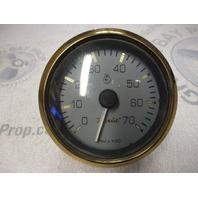 "TC9916A Faria Marine Boat Tach Tachometer 7K 7000 RPM 3 1/4"" Grey/Gold"