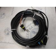 84-896537K20 Mercury Outboard Smartcraft 20 ft Gauge Instrument Wire Harness & Key Assy