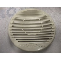 "Clarion 7""  Pair of Off White/Cream Plastic Speaker Covers Grill"