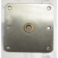 "3620001-B Springfield 7""X7"" SS King Pin Standard Base with Brass Bushing"
