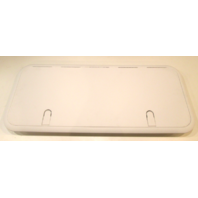 "T-H Marine HDSS-1330-2-DP Designer Series Non-Locking Hatch White 13"" X 30"""