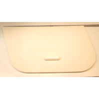 Voyager Pontoon Stbd Side Storage Lid Assembly With Handle White Poly