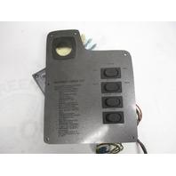 "Marine Boat Switch Dash Panel 10 1/4"" x 7 5/8"" Nav/Anc Aerator Courtesy Horn"