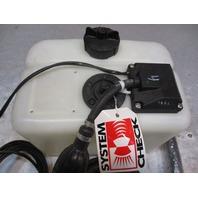 124658 3/90 New OMC Evinrude Johnson 1.8 Gal Remote Oil Tank Assy