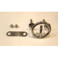 "84601 ITC Marine 3"" Stainless Steel Transom Mount Ski Tow Hook"