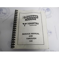 Service Manual for Nissan Tohatsu Outboard 40D-140