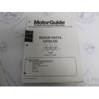 1996 MotorGuide Outboard Trolling Motor Repair Parts Catalog