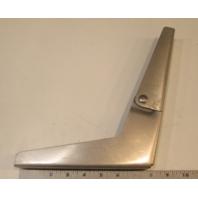 "Standard Aluminum Boat Seat Hinge Left Side 7 3/4"" X 10 1/8"""