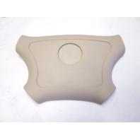 Voyager Pontoon Boat Tan Plastic Steering Wheel Center Hub Insert Cover