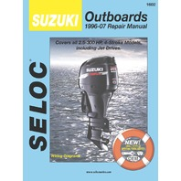 Suzuki Outboard 2-300 HP 1996-2007 Shop Repair Service Manual 1602