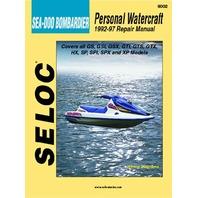 Sea-Doo/Bombardier PWC 1992-1997 Shop Repair Service Manual 9002