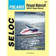 Polaris PWC 1992-1997 Shop Repair Service Manual 9400