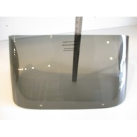 "New Voyager Pontoon Marine Boat Windshield Bubble Windscreen 25 1/2"" x 12"""