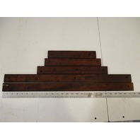 Marine Boat Teak Wood Deck Wall Insert Trim Set 1984 Renken