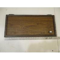 """1984 Renken Marine Boat Wood Cabinet Cabin Door 22"""" x 9 7/8"""""""