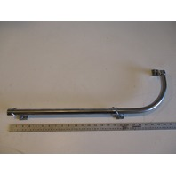 "Renken Marine Boat Stainless Steel 90 Degree Curve Grab Rail 25 1/2"" x 9 3/4"""