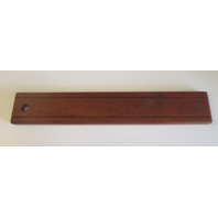 "1988 Regal Empress 200XL Boat Teak Wood Side Compartment Cover 23 3/8"" x  3 7/8"""