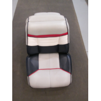 Back to Back Boat Seats for 1990 Bayliner Capri Blue Grey White Red