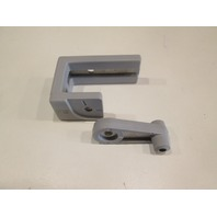 "4495G-R Pontoon Boat Safety Gate Latch 1 1/4"" Rail Gray (Right)"