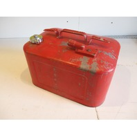 Vintage Mercury Kiekhaefer Outboard Fuel Gas Tank Metal 6 Gallon