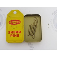 Frabill Cosom Vintage Propeller Shear Pin Set 1 Clinton, Chief 5.0 1958